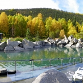 CHENA HOT SPRINGS RESORT ROCK LAKE