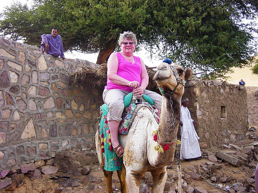 Travel with Sara Raney to Egypt