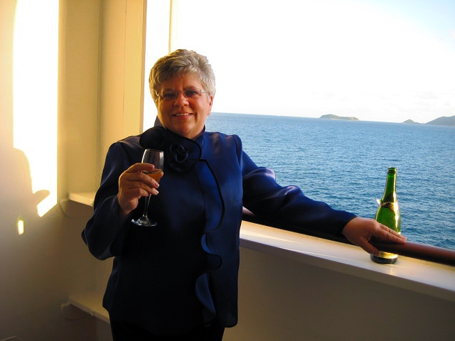 Travel with Sara Raney! (Photo taken on the Queen Mary.)
