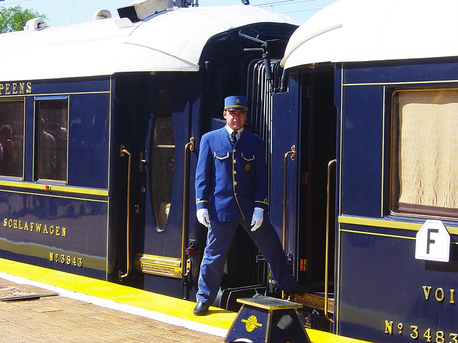 Travel with Sara Raney on the Orient Express train