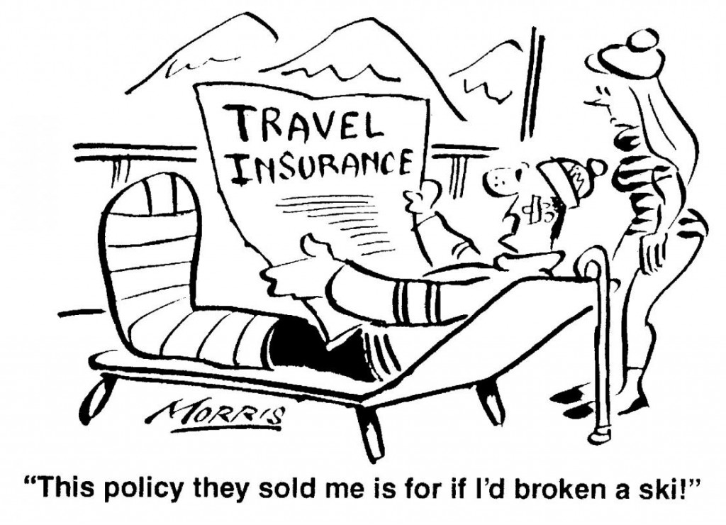 Travel Insurance Cartoon