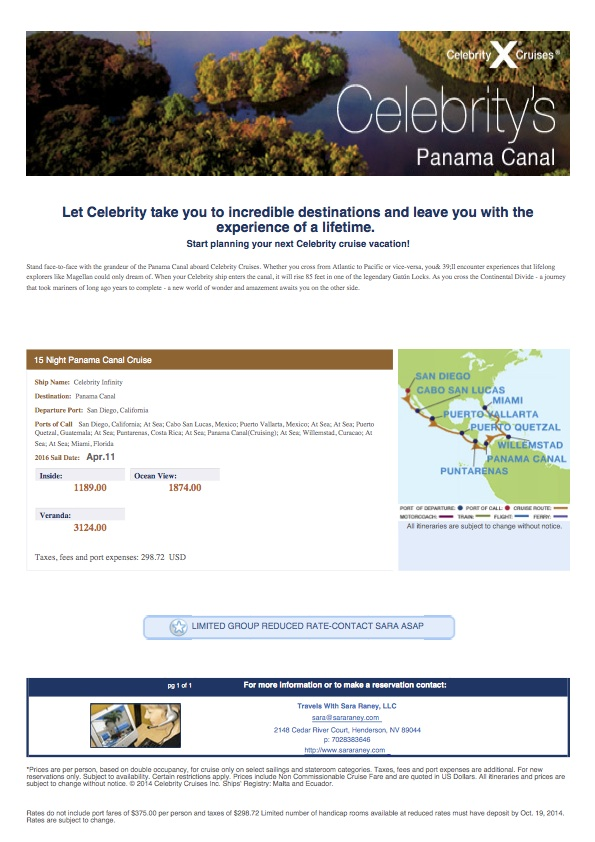 Celebrity cruise line daily newsletter