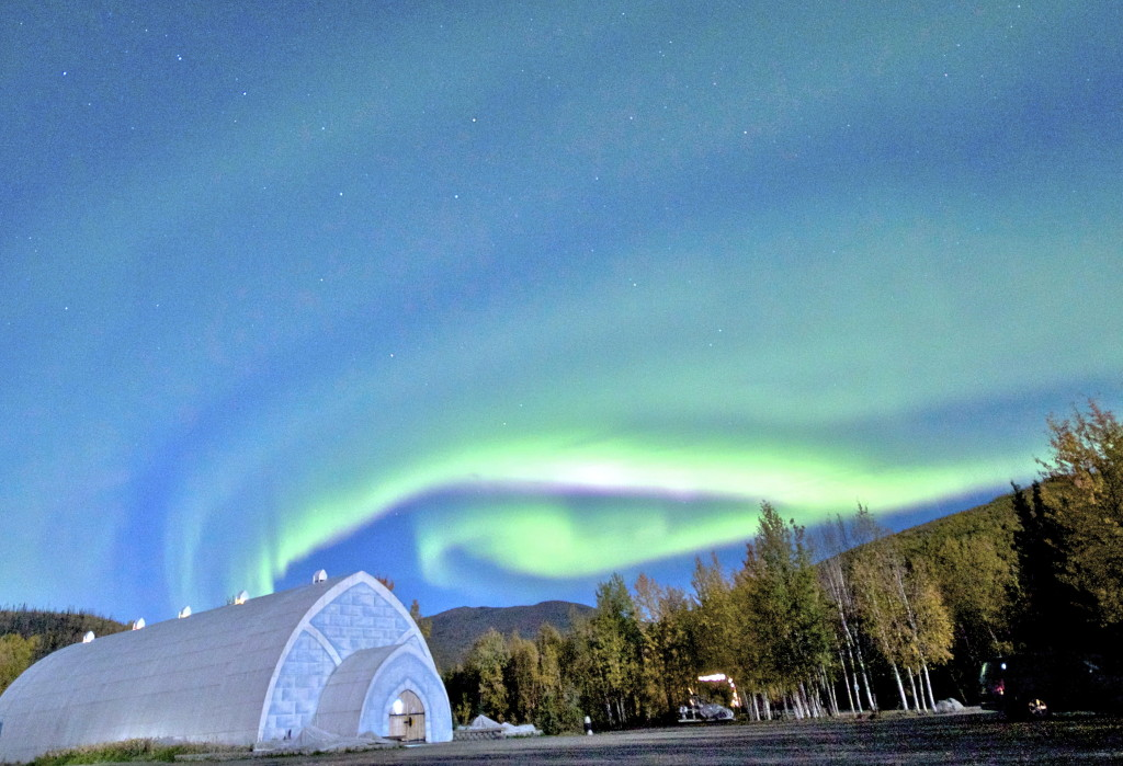 AURORA OVER ICE MUSEUM