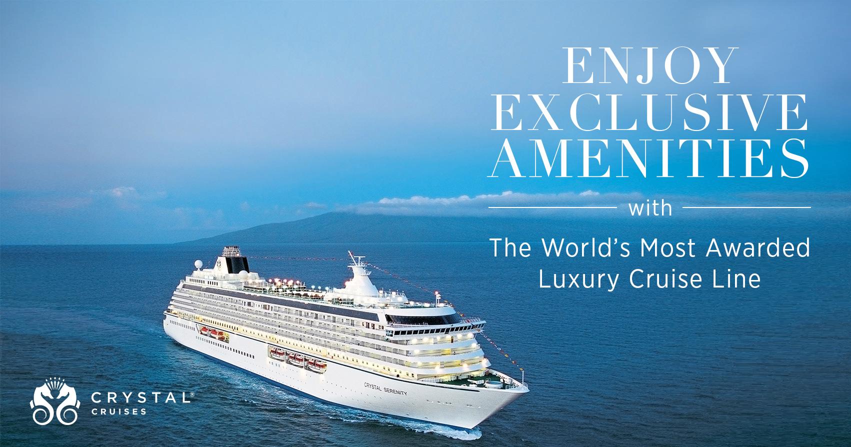 Crystal Cruises - SaraRaney.com