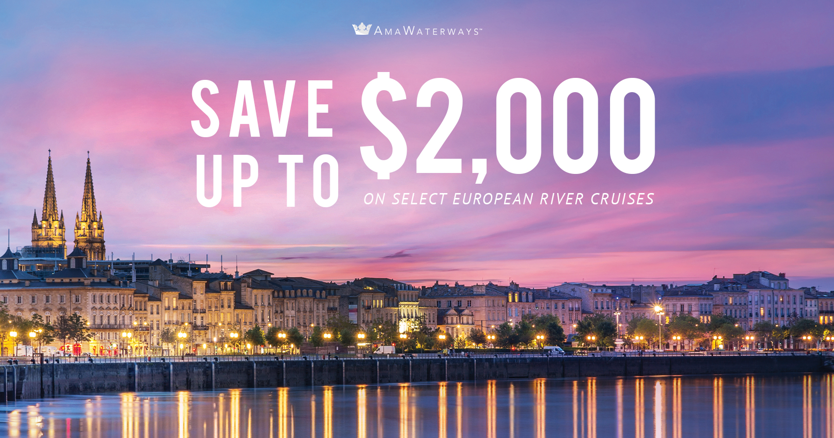 Save on European River Cruises with Sara Raney